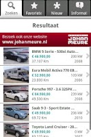 Screenshot of Johan Meure Auto Occasions