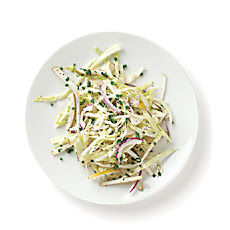 Cabbage and Asian Pear Slaw