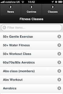RL Fitness - screenshot