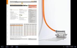 Screenshot of Lapp Group Catalogue