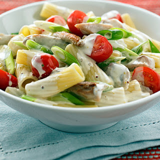 Creamy Mustard, Tomato and Chicken Pasta