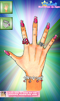 Screenshot of Fashion Style Nails Remix