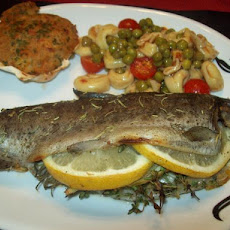Herb Stuffed Rainbow Trout