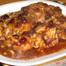 Cranberry Barbecue Chicken - Crock Pot