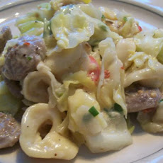 Hungry for Italian Sausage and Cabbage