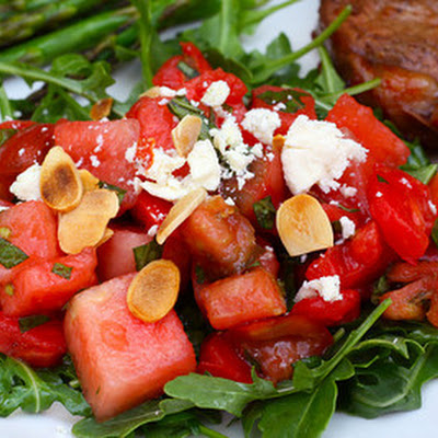 Tomato-Watermelon Salad