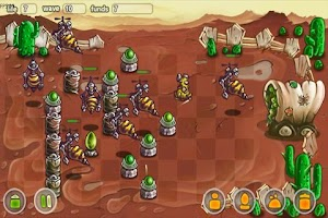 Screenshot of Creepy Creeps Tower Defense