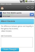 Screenshot of Albert Einstein
