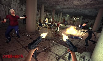 Screenshot of Trigger Zombie Waves Strike 3D