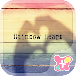 icon&wallpaper-Rainbow Heart- 1.0.0 Apk