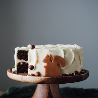 Chocolate Hazelnut Cake With Vanilla Hazelnut Frosting