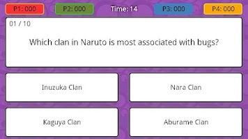 Screenshot of Anime Trivia