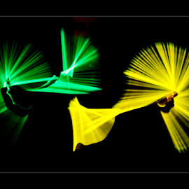 Empellers by Eddy Maerten - Abstract Light Painting ( lights, light painting, lighting )
