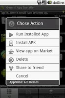 Screenshot of Gemini Installer & Clear