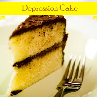 Depression Cake- No eggs, milk, or butter!