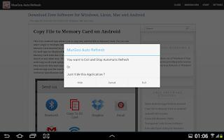 Screenshot of Auto Refresh Web Page Utility