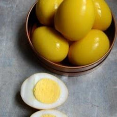 Yellow Pickled Eggs