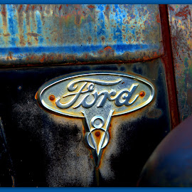 Antique Ford Truck Close Up by Wendy Thorson - Artistic Objects Antiques