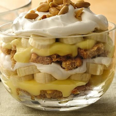 Banana Cream Pie-in-a-Bowl