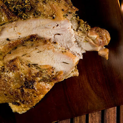 Herb-Rubbed Roasted Turkey Breast