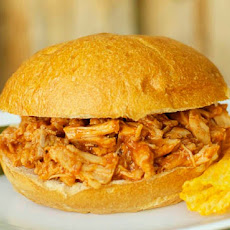 Crock Pot Dr. Pepper Pulled Pork Sandwiches