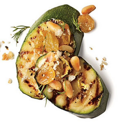Pine Nut and Raisin Zucchini