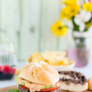 Stuffed Black Bean Burger