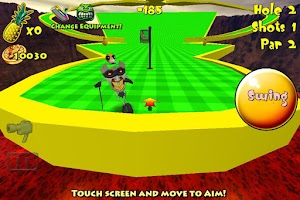 Screenshot of Tiki Golf Adventure Island