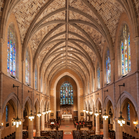 St. Marks Cathedral by Andy Chow - Buildings & Architecture Places of Worship ( church, cathedral, architecture, st marks, , building, interior, worship )