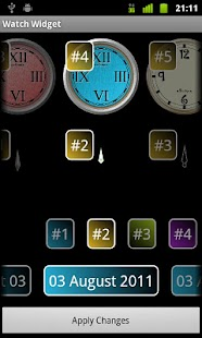 Build-a-Watch Widget - screenshot