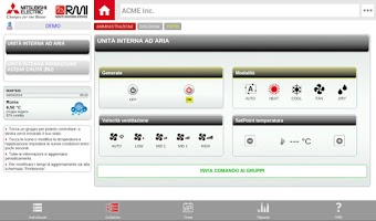 Screenshot of Mitsubishi RMI