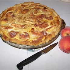Peach Custard Pie III