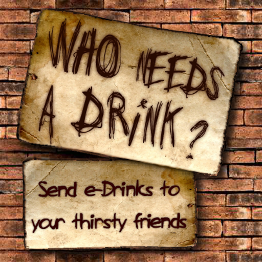 Who Needs A (Free) Drink ? LOGO-APP點子