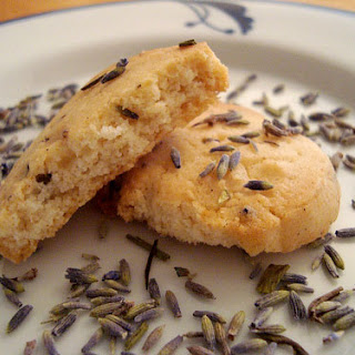 Honey Lavender Shortbread Cookies, An Alternative to Rosh Hashanah Honey Cake