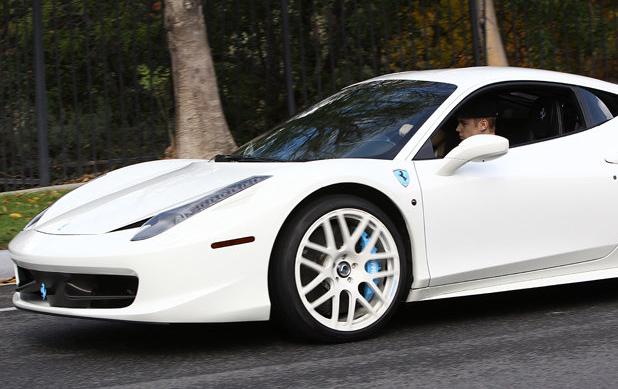 Justin Bieber Racks Up 6 Speeding Tickets In Dubai