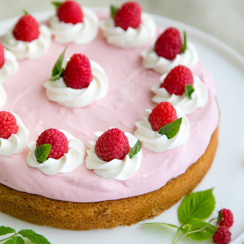 Charlotte Cake Recipe with Raspberries Rezept | Yummly