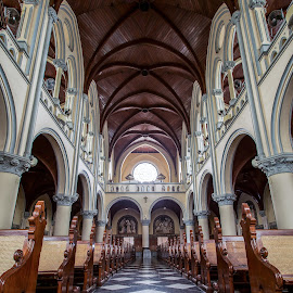 Cathedral Church by Reza Roedjito - Buildings & Architecture Places of Worship ( landmark, building, mosque, place of worship, raligion, architecture, travel, architecture details, historycal )