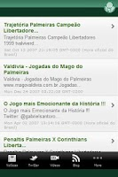 Screenshot of Palmeiras News