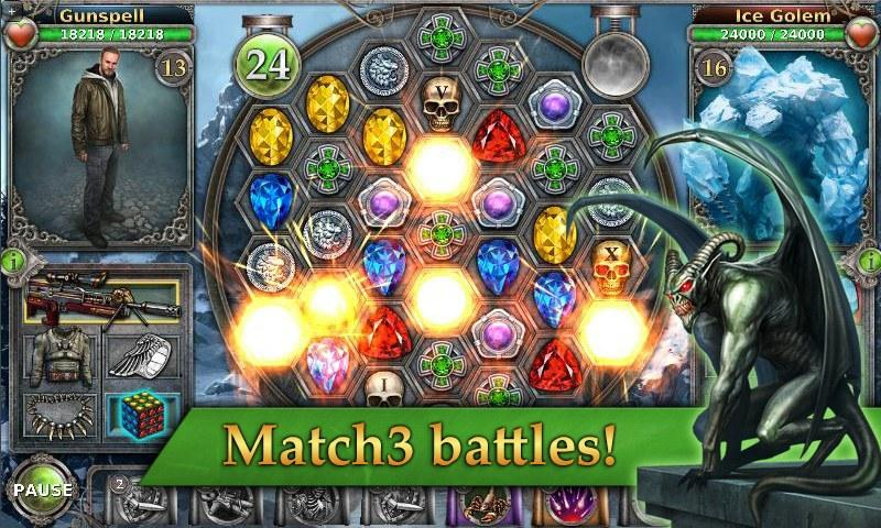 Gunspell - Match 3 Battles Screenshot