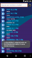 Screenshot of Radio Venezolana