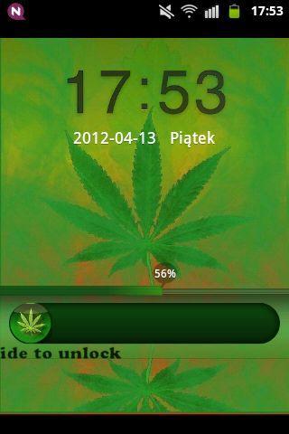 玩個人化App|GO Locker Theme WEED GANJA免費|APP試玩