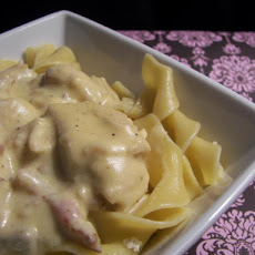 Texas Bacon Stroganoff