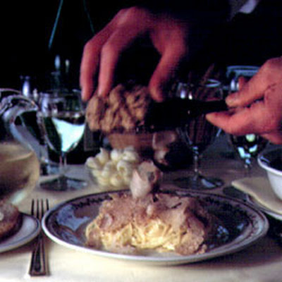 Taglierini with White Truffles