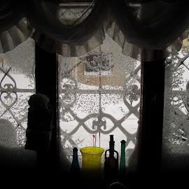 Penceremden disariya./ Through my window. by Yildirim Gencoglu - Buildings & Architecture Homes