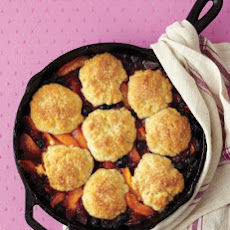 Apricot-Blueberry Cobbler