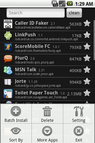 Fast App Install