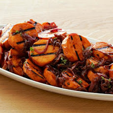 Caramelized Onion Sweet Potato Salad