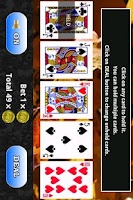 Screenshot of CF Video Poker Lite