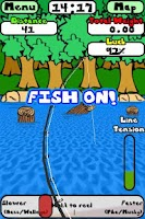 Screenshot of Doodle Fishing Lite