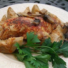 Chicken With Artichoke Hearts & Mushrooms